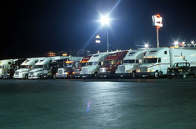 Photo Essay Usa Trucking